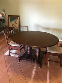 Lillian Russell Dining Table in Cherry by Davis Cabinet Company