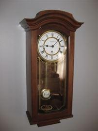 Linden Pendulum wall clock-Germany; Working
