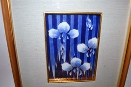 Japanese framed tile