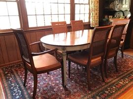 Beacon Hill dining table, chairs