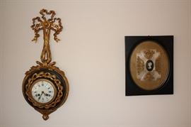 Clock and Cameo Art