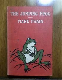 """1903 edition of the """"Jumping Frog"""" by Mark Twain"""