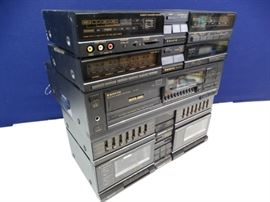 5pc Sanyo Stereo Architect Series System