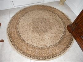 """60 """" round rug"""