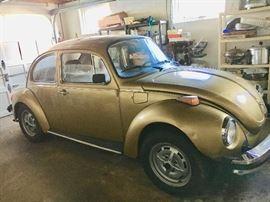 1975 VW Super Beetle w/sunroof 137,000 Miles