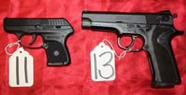 11	RUGER	LCP	AUTO	380	1-MAG 13	SMITH & WESSON	915	AUTO	9MM	1-MAG