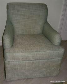 Pastel Green Armchair