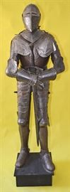 """Rare 17th Century French Style Museum Quality Suit of Armor 