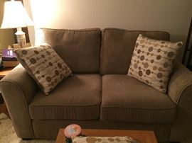 nice loveseat  $85 as new