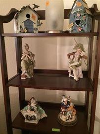 Antique Bisque figurines, porcelain figurines.
