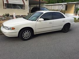2003 Buick Century...90K miles...Engine runs great...passenger side window does not roll down.