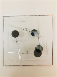 Amidei kinetic wall art