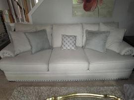 Newer grey sofa