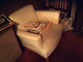 1950's naugahyde chair