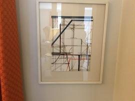 Framed artwork