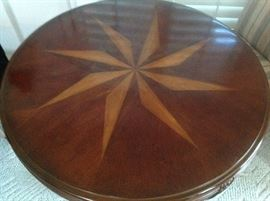 View from the top of a beautiful Pedestal Round Table.