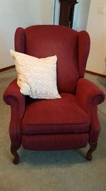 1 Queen Anne chair, very comfy and in great condition!