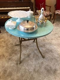 1950's retro folding table