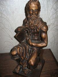 Aristotle bronze statue.