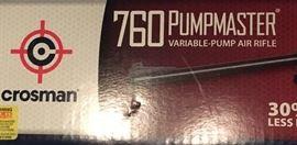 Crosman 760 Pumpmaster BB gun in original box.