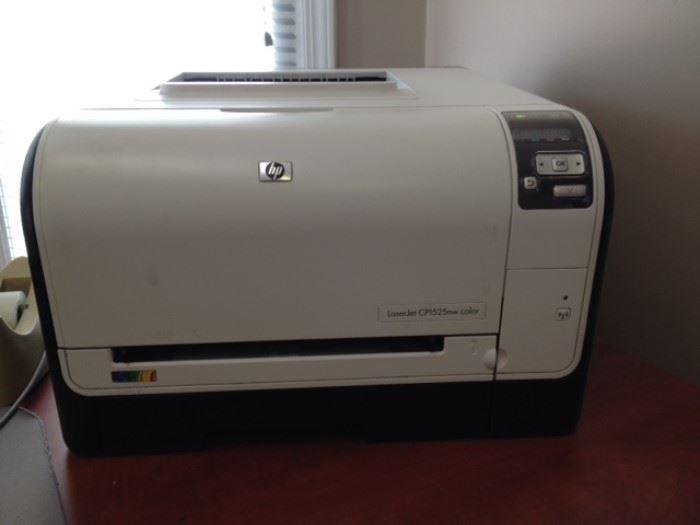 HP laserjet CP1525nw color printer