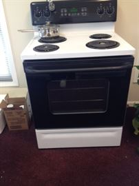 Electric Stove 30Wx25Dx45Hbackpanel