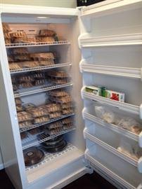 freezer open