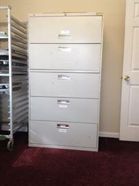 4 drawer top slide bin 36Wx20Dx5ft7inH