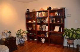 Set of three bookcases