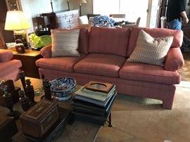 Matching custom sofas