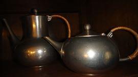 Pewter coffee pot, Pewter Tea pot