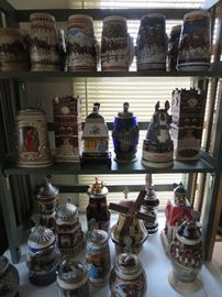 Part of the 96 Budweiser Steins