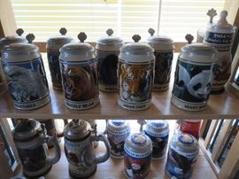 Bud Endangered Species Steins