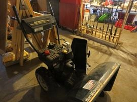 "Yard Machine 26"" 8hp Electric Start Snow Blower"
