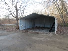 Quonset Three Sides enclosed for sale