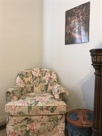 A beautiful chair for any room.