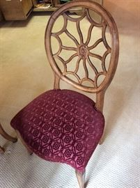 DETAIL OF SPIDERBACK CHAIR
