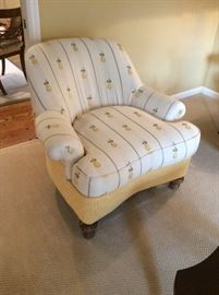 Custom Arm Chairs (only one shown)  - Edwin Pepper Interiors