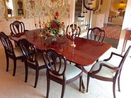 Baker Dinning Room Set