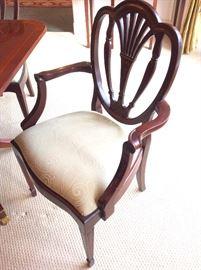 Detail of Baker Chair