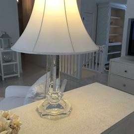 STUNNING! Ralph Lauren crystal table lamp