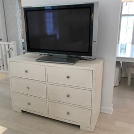 Second of two of dressers & Sony TV