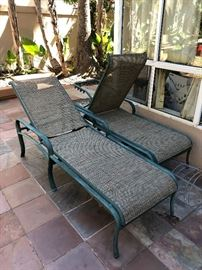 Pair of tropitone lounge chairs