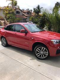 BMW  2015 X4 25,000 miles