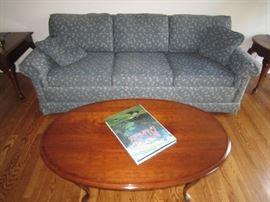 Sleeper sofa and Pennsylvania House Coffee table