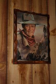 John Wayne clock