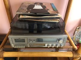 Turntable Player, Speakers and Records  https://www.ctbids.com/#!/description/share/5988
