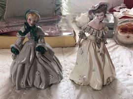 2 Vintage Florence Ceramics Figurines  https://www.ctbids.com/#!/description/share/5971