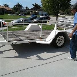 8 ft trailer...$600 OBO
