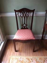 Mainland Smith Mahogany Chippendale Chair - 8